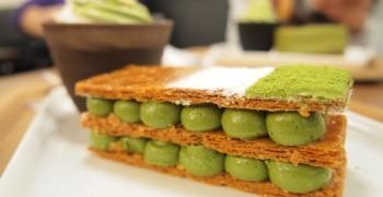 【甜點美食】台北永康商圈 和茗甘味處。正宗宇治抹茶香