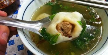 【美食】新莊廟街夜市 古早味鹹圓仔湯