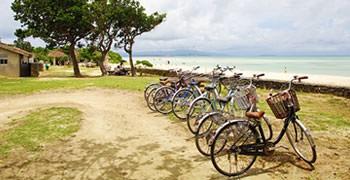 【竹富島旅遊】騎著自行車玩景點 星砂浜、コンドイビーチ、西棧橋
