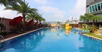 【南投住宿推薦】埔里友山尊爵酒店|Villa度假風就在市區