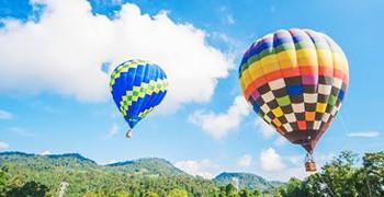 【南投旅遊推薦】觔斗雲熱氣球 飛天感受日月潭360度之美