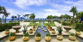 【石垣島住宿推薦】石垣格蘭維洛度假飯店|像仙境一樣美的中庭