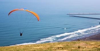 【宜蘭旅遊】外澳飛行傘基地 空中翱翔眺望龜山島