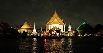 【曼谷旅遊】夜遊昭披耶河|搭乘公主號郵輪賞夜景吃大餐