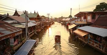 【曼谷旅遊】丹能莎朵水上市場+美功鐵道市場+安帕瓦水上市場 一日遊