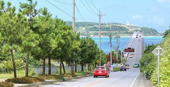【沖繩景點】古宇利大橋 開到一半以為要斷掉的跨海大橋