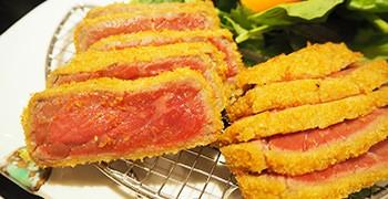 【東京美食】新宿 牛かつ あおな|炸牛排