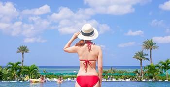 【沖繩住宿推薦】沖繩蒙特利水療度假酒店 Hotel Monterey Okinawa Spa & Resort (泳池海灘篇)