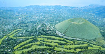 【靜岡伊豆】伊豆高原|搭上大室山纜車,在伊東八景遠眺富士山