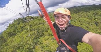【菲律賓宿霧】薄荷島 巧克力山冒險一日遊|空中衝浪&眼鏡猴
