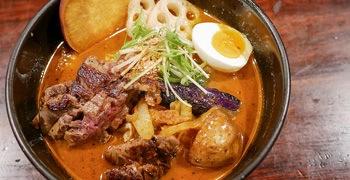 【札幌美食】奧芝商店|濃郁蝦味湯咖哩×黑毛和牛