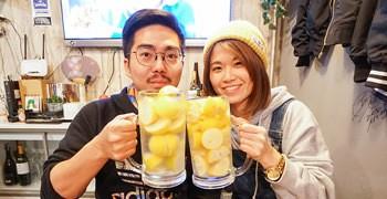 【札幌美食】piccolo MODENA|日義創意居酒屋 超大杯秒醉檸檬沙瓦