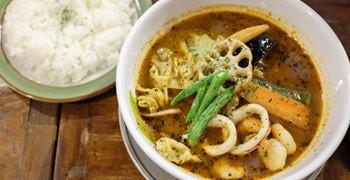 【札幌美食】カンクーン湯咖哩|Small Curry Bar Cancun