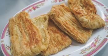 【台東池上美食】大池豆包豆皮豆漿店|外酥內軟現做豆包