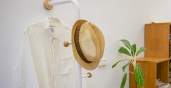 【居家開箱】立格扉 星空衣帽架、簡約竹木集線盒|北歐風傢俱打造無印味