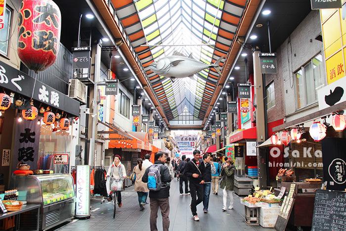 日本-大阪-黑門市場-日本橋-電器街-動漫-電器-公仔-玩具-家電-購物-血拼-推薦-小吃-市場-景點