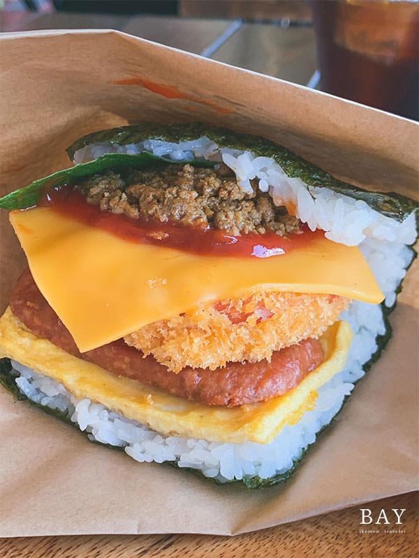 沖繩-美食-Pork-Tamago-Onigiri-豬肉-蛋-飯糰-美國村-北谷-早餐-早午餐-飯團-推薦